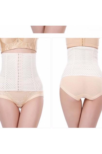 VIRENE Super Slim Bengkung 4 Tulang Women Waist Trainer Abdomen Slimming Girdle Control Belt Waist Cinchers Body Shaper Tummy Control Shaperwear Ready Stock 111108