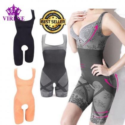 Ready Stock PREMIUM Bamboo Charcoal Slimming Suit Corset / Body Shapewear 211286