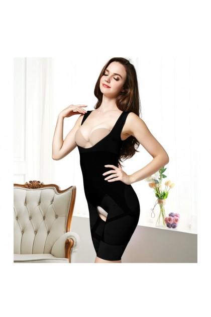 Women Shaperwear Bamboo Charcoal Slimming Suit Corset / Body Shapewear Slimming Korset Ready Stock 211286