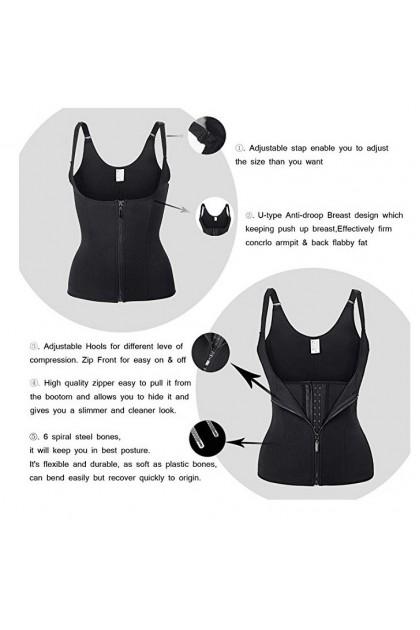 PLUS SIZE Super Slim Body Hot Shaper Slimming Sauna Suit Shapewear Corset Ready Stock 211199