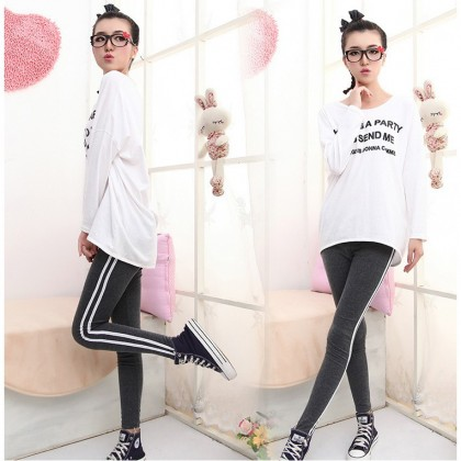 READY STOCK Premium Quality SOFT Cotton Sport Legging Thick Legging 211150