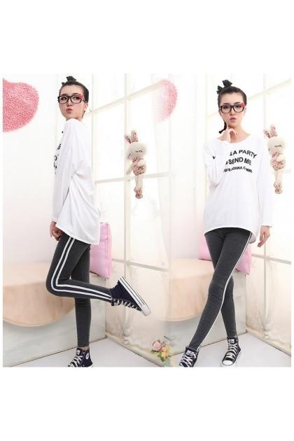 Women Sport Legging Cotton Sport Legging Thick Legging Free Size Seluar Panjang Seluar Sukan Ready Stock 211150
