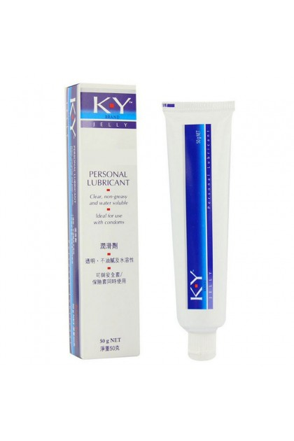 50g KY Jelly Water Soluble Lubricant Adult Gel Ready Stock 081106