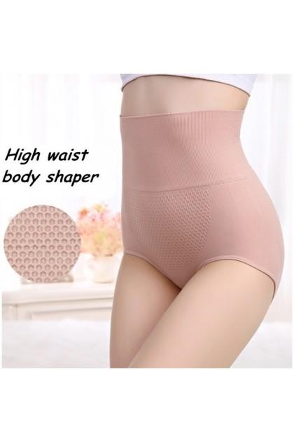 Uterus Girdle Panties High Waist Warming Uterus Flatten Tummy Hip Lifting Women Underwear Female Panties Ready Stock 101185