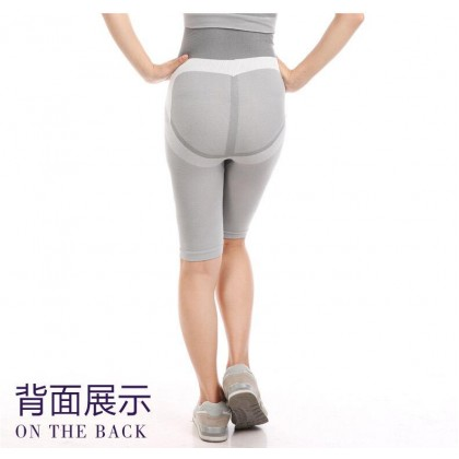 MONALISA【100% Original】Ready Stock Natural Bamboo Infrared Girdle Panty Slim Shapewear Pants Corset Korset Borong 321144