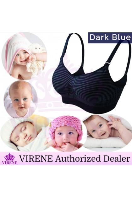 VIRENE Nursing Bra Women Maternity Bra SUPER SOFT Push Up Breastfeeding Bra Pregnant Motherhood Lingerie Wireless Stretchy Bras Ready Stock 311100
