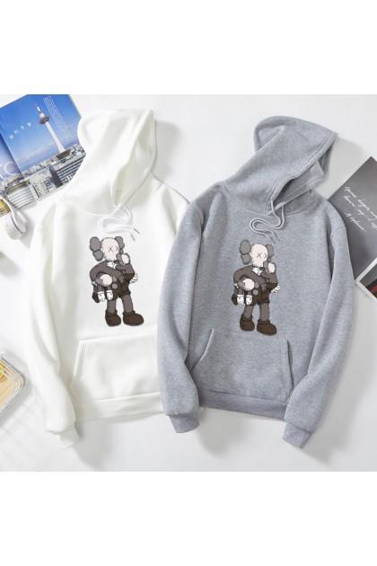 VIRENE KAWS Sweater Hoodies Shirt KAWS Cartoon Men Women Long Sleeve Sweater Hoodies Top【M - 3XL】7 Colors Ready Stock 331118