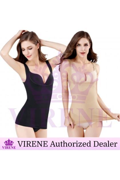 VIRENE Seamless Camisole Slimming Corset Top Body Shaper Singlet Waist Trainer Vest Ready Stock 218820