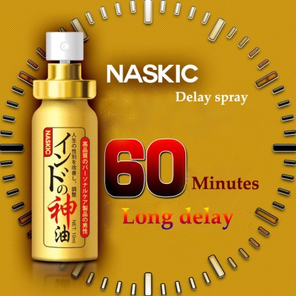 Japan NASKIC Long Time Delay Spray For Men God Oil Penis Enlargement 60 Minutes Delay Ejaculation Spray 10ml Ready Stock