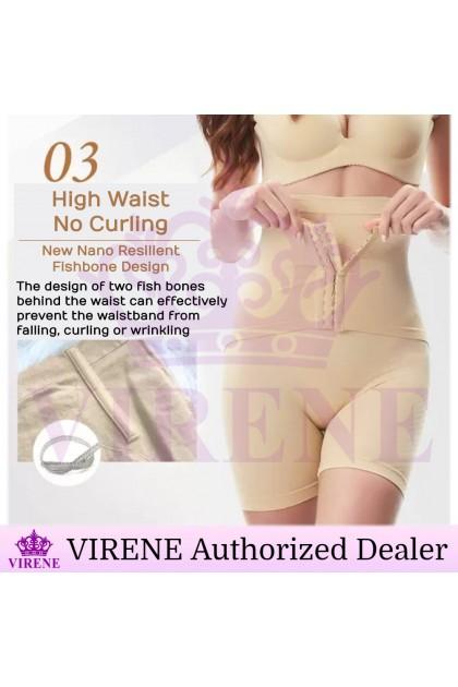 VIRENE PLUS SIZE Girdle Pants New.V Slimming Corset Pants+Belt Butt Lifter Shaper Tummy Control Belt Ready Stock 321136