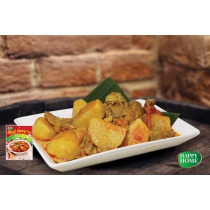 Happy Home Meat Curry Paste【100% Vegetarian】素咖哩肉即食酱 Kari Daging Vegan 200g Ready Stock 9551000590011