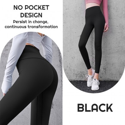 VIRENE Sport Pants Yoga Pants Women Legging Fitness Trackpants Gym Pants Stretchable Running Pants Ready Stock 322002