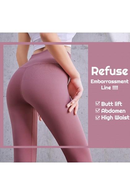 VIRENE Sport Pants Yoga Pants Women Legging Fitness Trackpants Gym Pants Stretchable Running Pants Ready Stock 322002