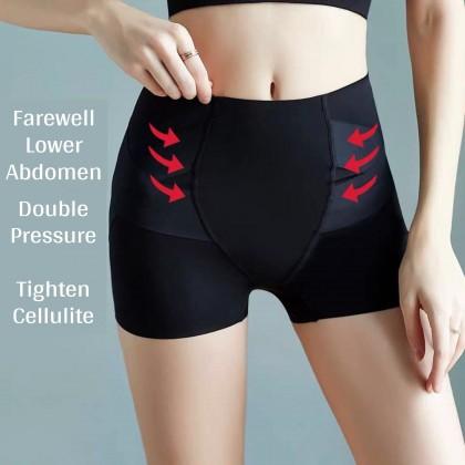 VIRENE Body Shaper Panties Slim Mid-Waist Women Panties Plus Size Safety Pants Waist & Hip Slimming Girdle Pants Corset Panty 卡卡同款提臀收腹裤 Ready Stock 320002