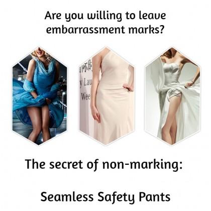 VIRENE Women Fitness Pants Seamless Abdomen Shaping Pants Butt Lifter Girdle Barbie Pants Yoga Sports Safety Pants Ready Stock 170911