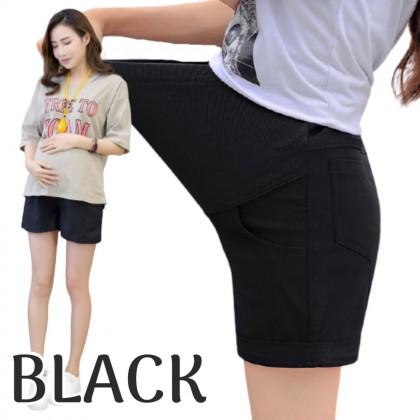 Maternity Short Pants Cotton Linen Adjustable Pregnancy Pants Casual Mummy Shorts Nursing Women Bottom Women Abdominal Pants Ready Stock 329900