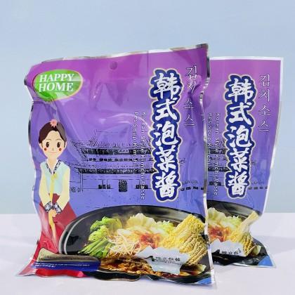 Happy Home Vegetarian Korean Style Kimchi Paste (200g) 素食韩式泡菜酱 韩国泡菜火锅酱