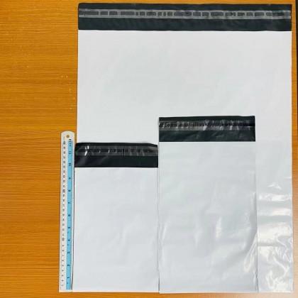 White / Fragile Flyer Size XS-XL High Quality Courier Bag Parcel PE Plastic Bag 高质量快递包装袋 Ready Stock Packaging Bag