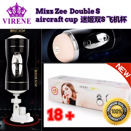 Mizz Zee Double S aircraft cup Adult Sex Toys ST 迷姬-成人性玩具,双S 飞机杯 Ready Stock 6937486601169