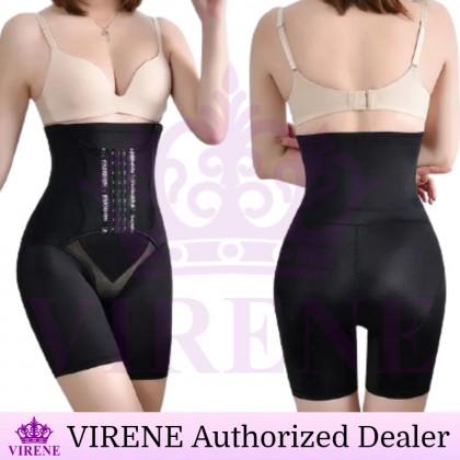 VIRENE Girdle + Belt Women Sliming Girdle Pant Butt Lifter High Waist Safety Pant Postpartum Shapewear Ready Stock 326668