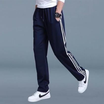 Plus Size Men Sport Pants Casual Men Running Long Sports Pants Jogger Seluar Panjang Sukan Lelaki 男士运动长裤 Ready Stock 321111