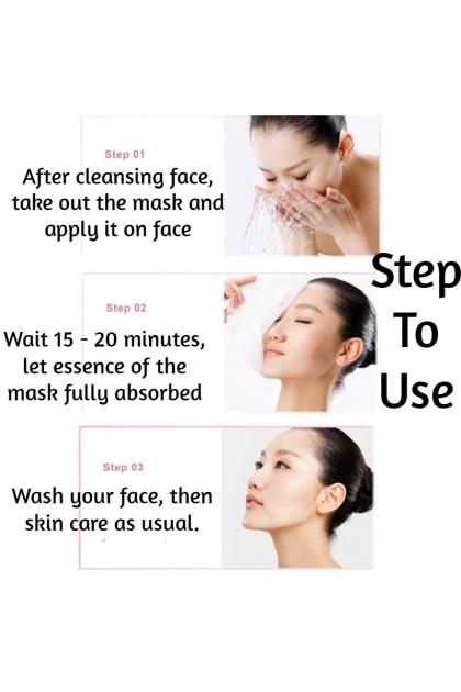 100% Original BIOAQUA Peach Extract Hexapeptide Extract Mask Moisturzing Skincare Skin Delicate Smooth Sheet Mask 泊泉雅水蜜桃六胜肽面膜贴 67956BA