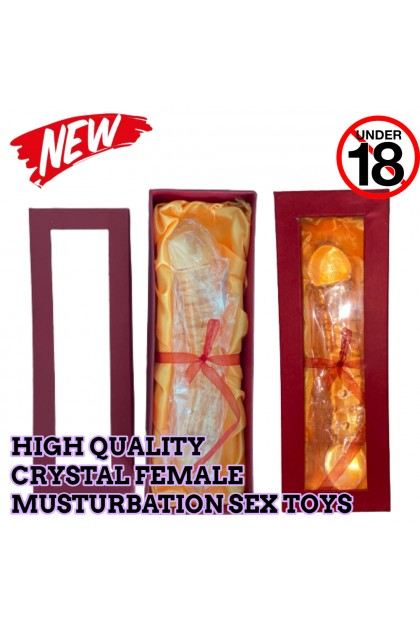 High Quality WOMEN Female Crystal Musturbation Sex Toys Mastubrate Ready Stock 271022ST