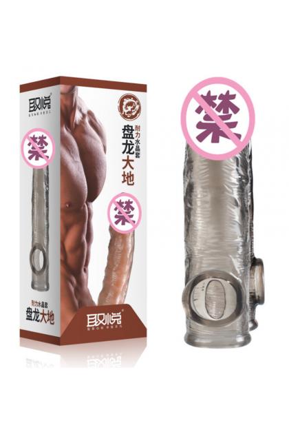 取悦QUYUE耐力水晶套成人用品 Crystal Condom Adult Products Men Sex Toys Ready Stock 6922359302601