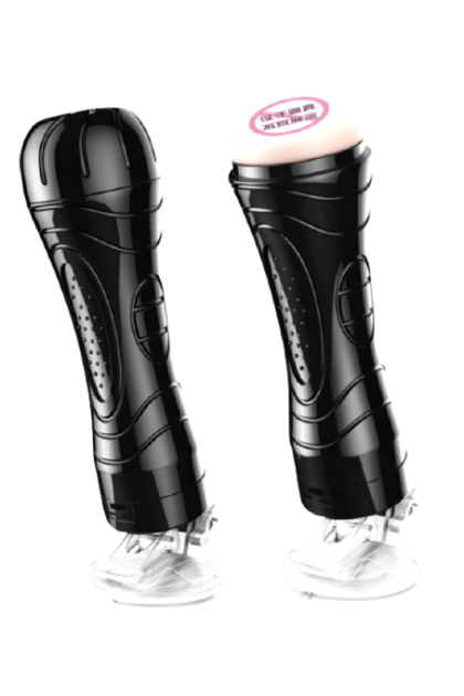 Young love Vibrating Male Masturbator With Suction Cup Mount For Hands-Free Fun Ready Stock Adults Sex Toys