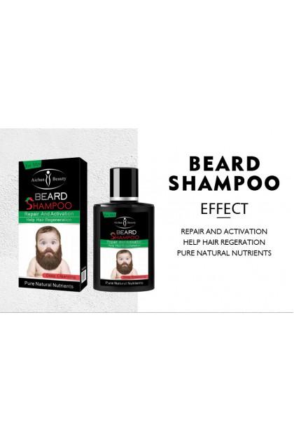 AICHUN BEAUTY Beard Hair Growth Shampoo Regeneration Repair and Activation Pure Natural Nutrients 100ml Ready Stock 31893ACB