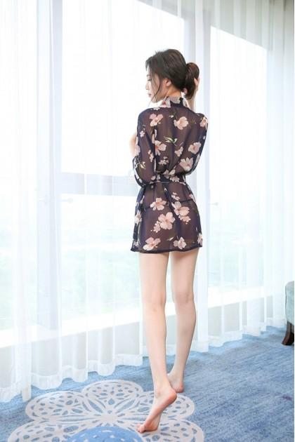 Korean Fashion Women Sleepwear (Free T-Back) Sexy Lingerie Nightwear Baju Tidur Wanita 女式性感睡衣情趣睡衣 Ready Stock 615
