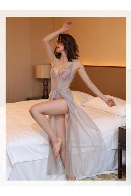 Women Sexy Lingerie Full Body Sexy Lingerie Sleepwear Nightwear Sexy Pajamas Baju Tidur Wanita 性感情趣睡衣 Ready Stock 8169