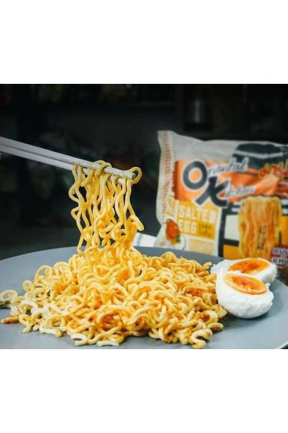 Thailand MAMA Instant Noodles OK Mee Oriental Kitchen ( Salted Egg ) 85g x 4packs 泰國妈妈牌鹹蛋面 OK咸蛋面 Ready Stock 8850987148699