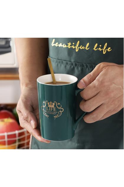 Nordic Creative Ceramic Mug Marble Pattern Mug Couple Coffee Cup Event Gift Water Cup 环保材质,耐高温,精致送礼 马克杯 Ready Stock 329924