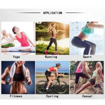 Women Plus Size Sports Bra Push Up Genie Yoga Gym Bra Ready Stock 现货 大码 运动文胸 211140