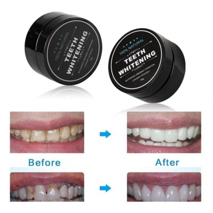 Teeth Whitening Charcoal Powder【100% Original】Organic Charcoal Bamboo Amour Natural Tooth Whitening Ready Stock 040189