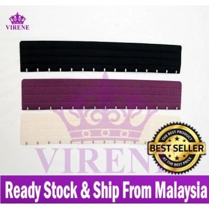 Ready Stock 15 Hook Plus Size Corset Extender Ala Sajat Bengkung Extender 031148